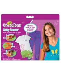 CRAYOLA CREATIONS ACTIVITY KIT STICKY STENCILS