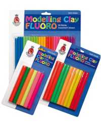 CLAY MODELLING SOVEREIGN FLUORO STICK PK24