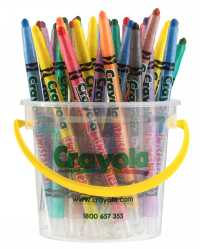 CRAYONS CRAYOLA 32'S TWISTABLE DESKPACK (8 COLOURS)