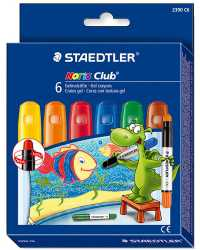 CRAYON STAEDTLER NORIS CLUB 6'S GEL BASIC