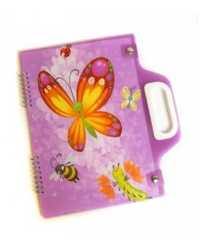 CARRY PAD A4 SPENCIL BUTTERFLY