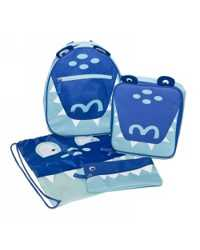 BACKPACK SET SPENCIL COOL CROC