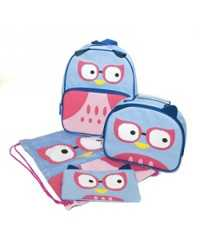 BACKPACK SET SPENCIL ODDBALL OWL