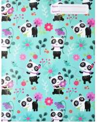 BOOK JACKET SPENCIL EXERCISE PANDA LOVE PK6
