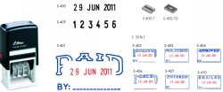Date Stamps & Line Daters
