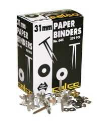 PAPER BINDERS CELCO 648 63MM BX100
