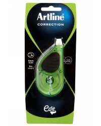 CORRECTION TAPE ARTLINE EDIT MAXI GREEN BX6