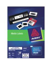 AVERY INKJET LABEL J8666 3.5 DISKETTE FACE 10L'S