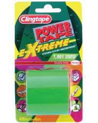 TAPE CLINGTAPE POWER TAPE EXTREME 4M FLUORO GREEN
