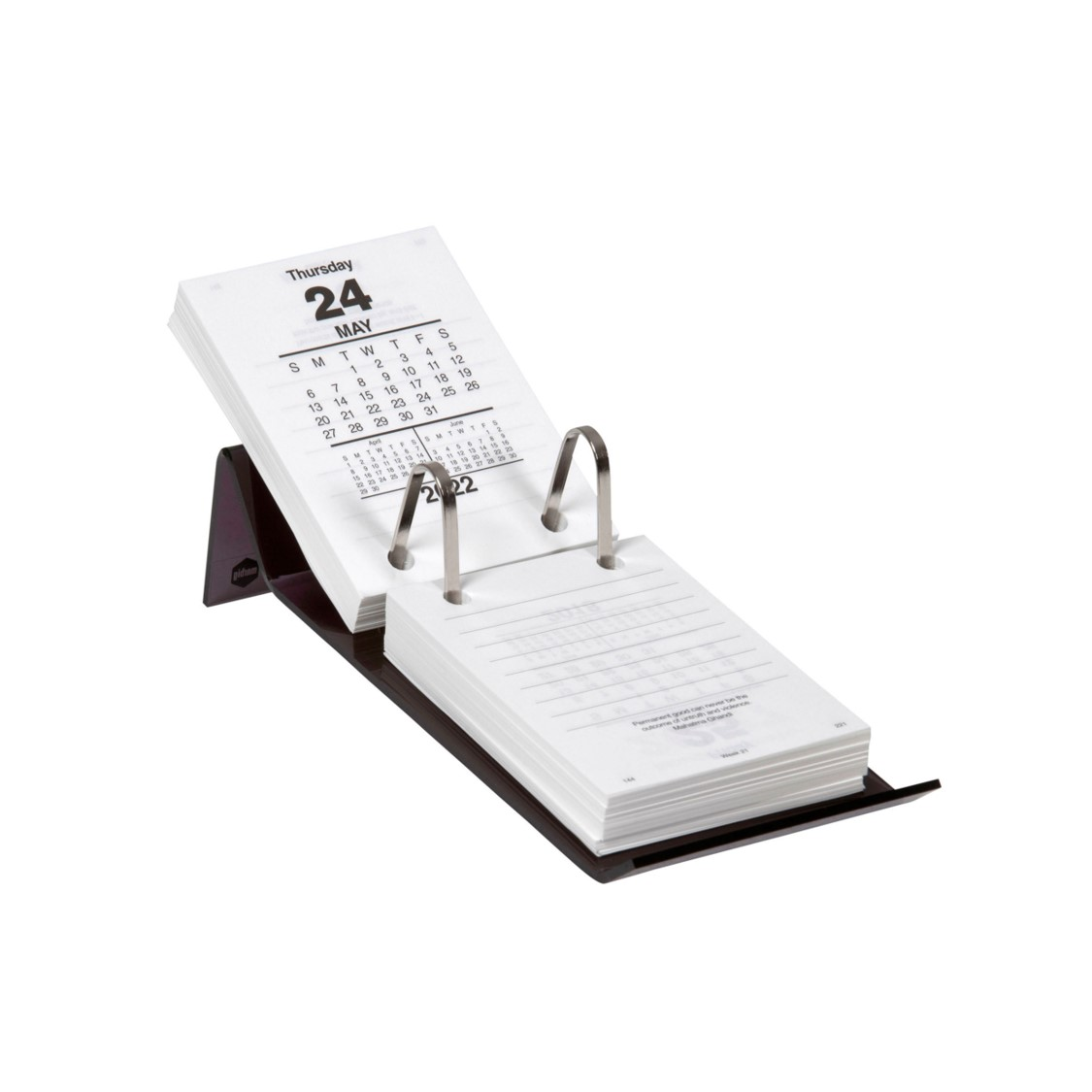 CALENDAR STAND MARBIG ACRYLIC T/OPENING