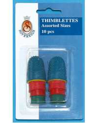 THIMBLETTES SOVEREIGN ASST SIZES PK10