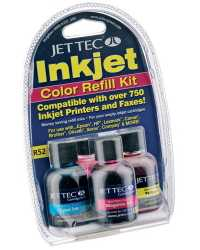 INK JET CART REFILL PELIKAN R27 JETTEC KIT COLOUR ASSORTED