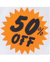SIGN STAR LARGE 50% OFF