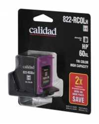 INK JET CART CALIDAD 822-RCOLH HP 60XL TRI COLOUR