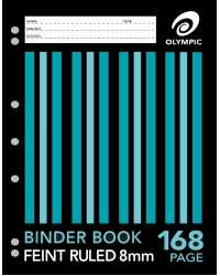 BINDER BOOK OLYMPIC A4 168 PAGE PK10
