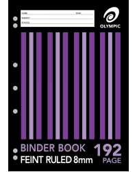 BINDER BOOK OLYMPIC A4 192 PAGE PK10