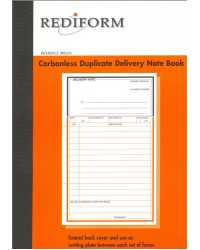 DELIVERY BOOK REDIFORM N/BOOK 2PT CARBOLESS SRB206 PK5