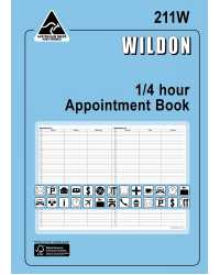 BOOK WILDON APPOINTMENT #211W 1/4 HR