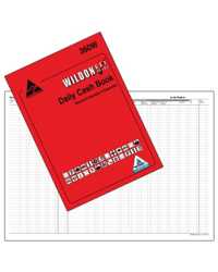 DAILY CASH BOOK WILDON 360W