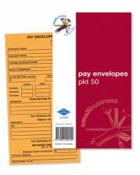 ENVELOPE ZIONS PRINTED 165X90 PAY SMALL BUSINESS ESSENTIALS PK50