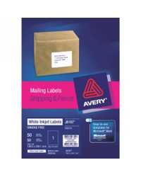 LABEL AVERY INKJET J8165-50 8UP