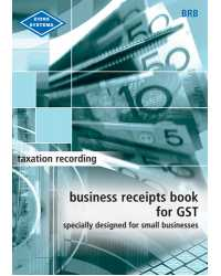 BUSINESS RECEIPT BOOK FOR GST ZIONS (BLUE)