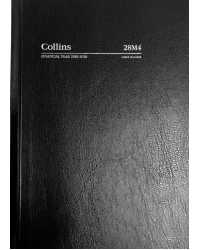 DIARY FINANCIAL YEAR 2018/19 COLLINS A5 2 DTP BLACK