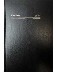 DIARY FINANCIAL YEAR 2018/19 COLLINS A5 WTO BLACK
