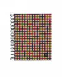 NOTEBOOK MILQUELRIUS 100% RECYL 240PG A5 5MM GRID HARDCOVER PK5
