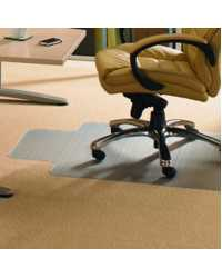 CHAIRMAT JASCO 90X120CM PVC FOR LOW PILE CARPET