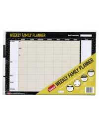 PLANNER WEEKLY FAMILY 2019 SASCO