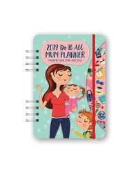 PLANNER 2019 ORANGE CIRCLE A5 DO IT ALL MUM