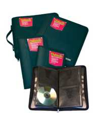 CD/DVD ALBUM COLBY WORKMATE W/ZIP CAP24