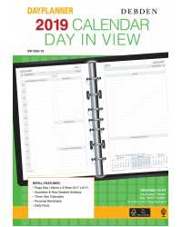 REFILL 2019 DEBDEN DK1200 TWO PAGES TO A DAY