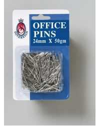 PINS OFFICE SOVEREIGN 24MM 50GM