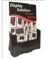 BROCHURE HOLDER DEFLECT-O A4 SUSTAINABLE OFFICE