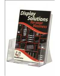 BROCHURE HOLDER DEFLECT-O A4 DESK EXTRA CAPACITY