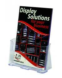 DEFLECT-O BROCHURE HOLDER A4 F/S WALL MOUNT 77001