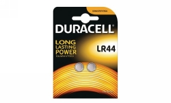 BATTERY DURACELL LR44 BUTTON CELL PK2