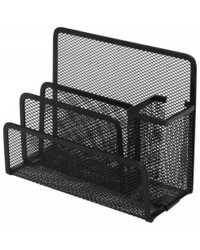 DESK ORGANISER ESSELTE METAL MESH BLACK