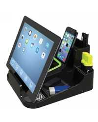 DESK ACCESSORY ESSELTE SMART CADDY DELUXE M/Y 2015 BLACK