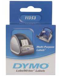 LABEL DYMO LABELWRITER 19X51 M/IPURPOSE PAPER/WHITE 500