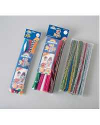 PIPE CLEANERS COLORIFIC NOVELTY COLOUR STIX PK20