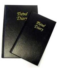 TRIP BOOK 105X175MM BLACK LEATHERGRAIN COVER