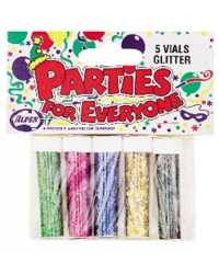 GLITTER ALPEN ASSORTED P5 CARDED
