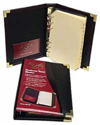BUSINESS CARD BINDER REFILLS WATERVILLE W85PBC PK5