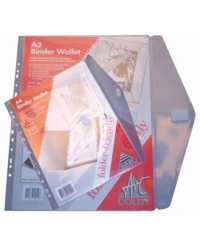 BINDER POCKET COLBY A4 146A CLEAR