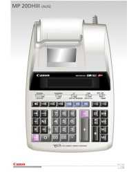 CALCULATOR CANON MP20DH I I I 12 DGT H/DUTY 2 COL PRINT