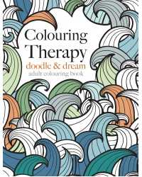 BOOK COLOURING ADULT COLOURING THERAPY DOODLE & DREAM 80GSM 64 P