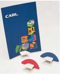 MEMO HOLDER CARL C55 BLUE